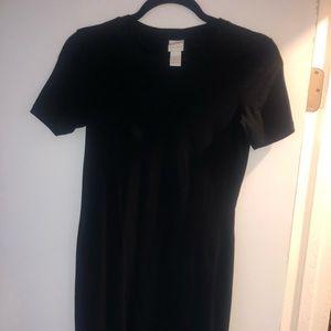 Dresses & Skirts - Tight black cotton dress